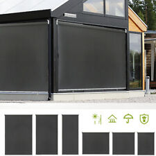 Senkrechtmarkise Sonnenschutzrollo Terrasse Sichtschutz Außenrollo Balkonrollo