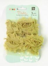 Prima Marketing ROSE TRIM Green Cheer Fabric Ribbon Donna Downey 1 Yard 921545