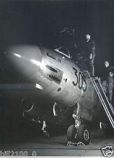 """avion de chasse """" Vautour II N  superbe photo des années 50.Ministère des Armées"""