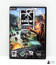 PC Computer Spiel - THE SHOW - Win XP - Komplett in Hülle OVP
