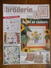 OUVRAGES BRODERIE n°47 - 2002 - Doudous, Bretagne, Normandie, astrologie