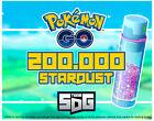 Pokemon Go XP 2.000.000 double with Lucky Eggs  200.000 Stardust 1-3 Shinys