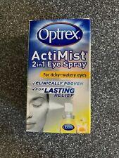 Optrex 2 In 1 Spray Itchy & Watery Eyes 10Ml BNIB UK SELLER