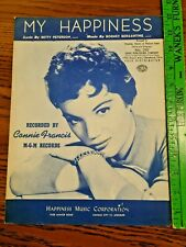 1948 My Happiness Sheet Music - Connie Francis