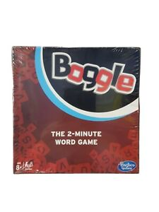 Hasbro Boogle Travel Game New & Sealed The 2 Minute Word Game Free Postage
