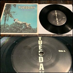 """TUESDAY Early Summer EP 7"""" Vinyl-the honor system slapstick alkaline trio falcon"""