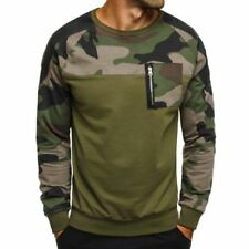 Jerséis y cárdigan de hombre en color principal verde 100% algodón talla L