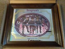 SEAGRAMS 7 CROWNS OF SPORTS NY RANGERS COOK-BOUCHER-COOK BAR MIRROR