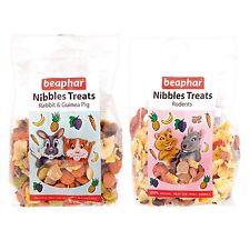 Beaphar Small Animal RABBIT GUINEA RODENT NIBBLES Hamster Nibble Treats 150gm