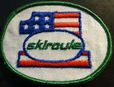 "RARE VINTAGE SKIROULE SNOWMOBILE PATCH NEW ABOUT 3"" X 4"" (307)"