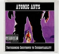 (HC714) Atomic Ants, Forthcoming Countdown To Unnegotiability - 2013 DJ CD