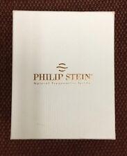 Philip Stein Mens Active Black Strap Chronograph Watch