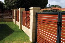 Aluminium Slats for Fences or Screening 100mmx16mm  DIY Carport Screening