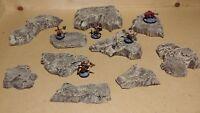 Wargaming Terrain - Medium Box Set of Hills Wasteland or Desert Finish