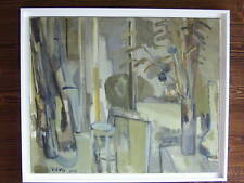 Belle huile sur toile de Jean Cornu (1915-2009).(ami de Mouly)Venard, Chevolleau