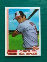 1982 Topps Traded CAL RIPKEN JR Orioles Baseball REPRINT Rookie Card #98T