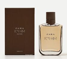 ZARA MAN - FOR HIM - 100ml 3.4fl.oz - Genuine Men's Eau de Toilette New with Box