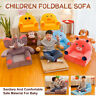 Childrens Kids Comfy Soft Chair Toddlers Armchair Seat Bedroom Lounger Sofa Bed