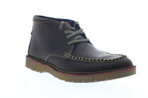 Clarks Vargo Apron 26138813 Mens Brown Leather Lace Up Ankle Boots
