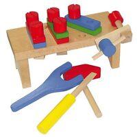 Beluga Werkbank aus Holz für den kleinen Handwerker Werkzeug