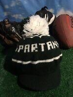 MSU adult Michigan State Spartans winter beanie hat cap H45