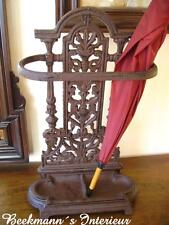 Umbrella Stand Made of Cast Iron in Antique Nostalgia Gründerzeit Stile NEW