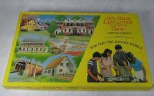 All About Lancaster County Board Game Vintage 1982 - Complete