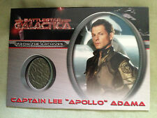 Battlestar Galactica Premiere Costume Card CC5 Lee Apollo Adama