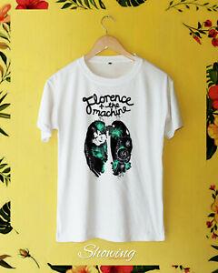Florence and the machine logo lungs bird vintage new rare T-Shirt S-2XL gildan