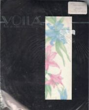 Crystal Creations Voila White Sheer FLOWERS PRINT Tall Fits 150 lbs 1983 Sealed