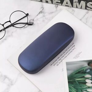 2x Navy case cover for eye-wear reading sunglasses spectacle magnifier eyeglass