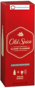 Old Spice Classic Cologne for Men 4.25 oz