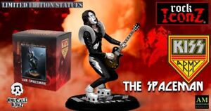 Knucklebonz Rock Iconz - Kiss Alive - The Spaceman Ace Frehley - Limitada