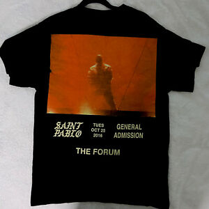 Kanye West Saint Pablo Tour T-shirt Size M