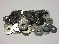 QTY 100  M5 X 15mm OD DIN 9021 STAINLESS STEEL WASHERS GRADE A2