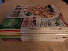 LOT 9 FOOD NETWORK MAGAZINES ALL FROM 2011