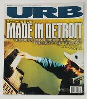 URB Magazine 50th Issue Aug Sep 1996 DJ Juan Atkins DETROIT TECHNO