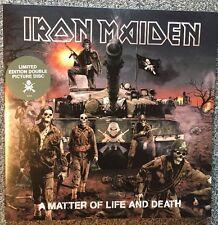 Iron Maiden  - A Matter Of Life And Death Picture 2-LP (Vinyl, Metal Sammlung)