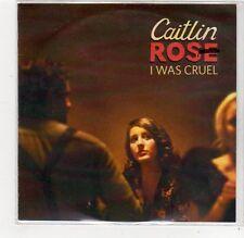 (FC781) Caitlin Rose, I Was Cruel - 2014 DJ CD