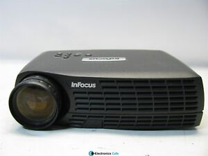 InFocus IN10 1100:1 Contrast 1800 Lumens DLP Video Projector w/Lamp *No Remote*
