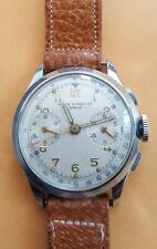 Baume Mercier Chronograph Cal 48 Mens Swiss Watch - Manual Wind 17 Jewels - Rare