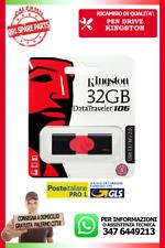 PENDRIVE KINGSTON USB 3.1 32GB CHIAVETTA PENNA DT106/64