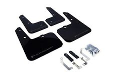 Rally Armor Mud Flaps Guards for 12-16 Veloster (Black w/Grey Logo)