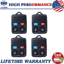 4Pcs Keyless Entry Remote Replacement Car Key Fob Transmitter For Ford Lincoln
