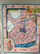 Zapf Creation Chou Chou 3 Pc Set Pink And Blue Butterfly New