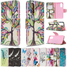 For Samsung Galaxy S20 Ultra/Note 10/S10 Plus Leather Pattern Wallet Case Cover
