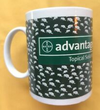 BAYER ADVANTAGE FLEA MEDICINE PHARMACEUTICALS SALES REP VETERINARIAN COFFEE MUG