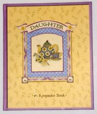 Daughter Mother Book of Memories Keepsake Hardcover New with tags