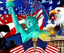 TAPIS DE SOURIS USA AMERIQUE DRAPEAU UNITED STATES