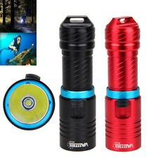 Waterproof 120m 10000Lm XM--T6 LED 26650/1860 Scuba Diving Flashlight Torch Lamp